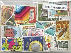 100 timbres du Luxembourg