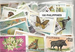 100 timbres des Philippines