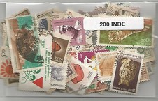 200 timbres d'Inde