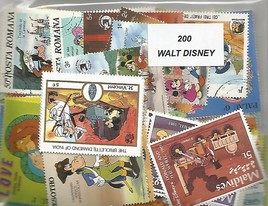 "200 timbres thematique "" disney"""