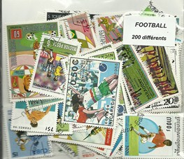 "200 timbres thematique ""Football"""