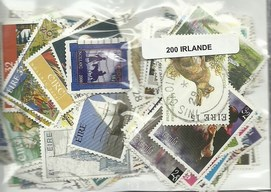 200 timbres d'Irlande
