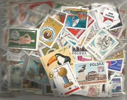 2000  timbres d'Europe
