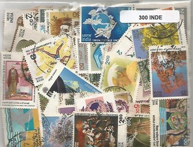 300 timbres d'Inde