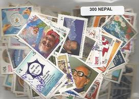 300 timbres du Nepal