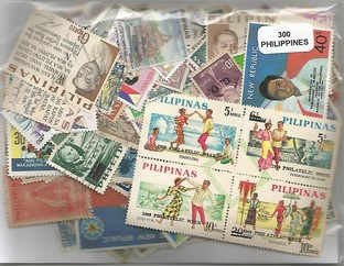 300 timbres des Philippines