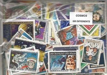 "500 timbres thematique "" Cosmos"""