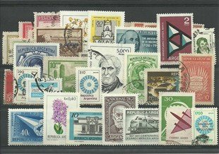 50 timbres d'Argentine