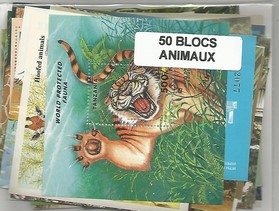 "50 blocs thematique ""animaux"""