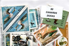 "50 timbres thematique "" Canards"""